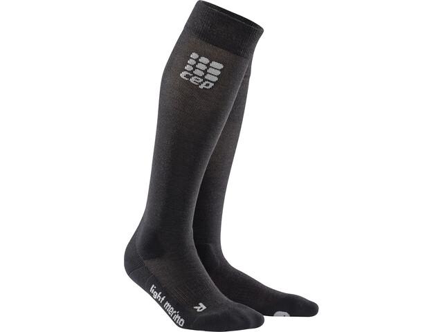 cep Ski Merino Socken Herren black/azure